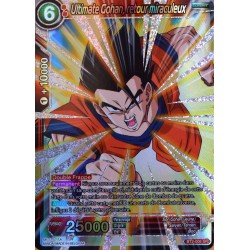 carte Dragon Ball Super BT2-006-SR Ultimate Gohan, retour miraculeux NEUF FR