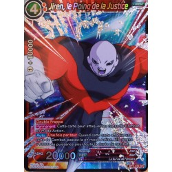 carte Dragon Ball Super BT2-029-SR Jiren, le Poing de la Justice NEUF FR