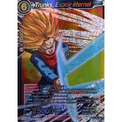 carte Dragon Ball Super BT2-042-SR Trunks, Espoir éternel NEUF FR