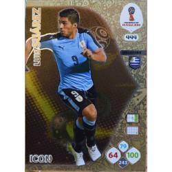 carte PANINI ADRENALYN XL FIFA 2018 #444 Luis Suárez / Uruguay
