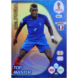 carte PANINI ADRENALYN XL FIFA 2018 #465 Paul Pogba / France