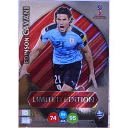 carte PANINI ADRENALYN XL FIFA 2018 #LE-EC Edinson Cavani (Uruguay)