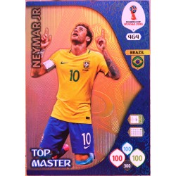 carte PANINI ADRENALYN XL FIFA 2018 #464 Neymar Jr / Brazil