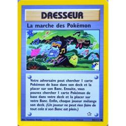 carte Pokémon 102/111 La marche des Pokémon Dresseur Neo genesis (2001) NEUF FR