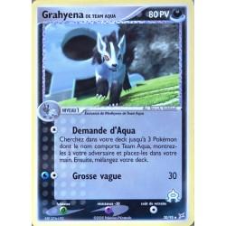 carte Pokémon 30/95 Grahyena 80 PV EX Magma VS Aqua NEUF FR