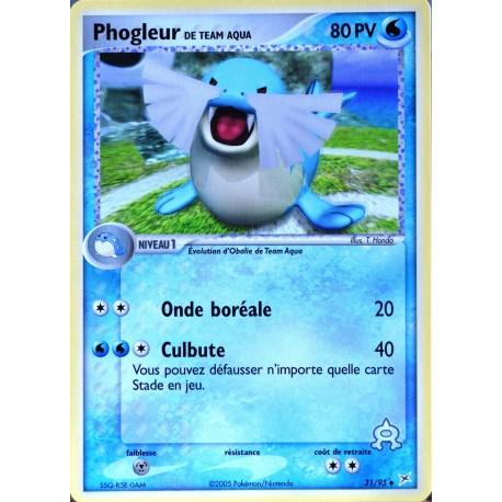 carte Pokémon 31/95 Phogleur 80 PV EX Magma VS Aqua NEUF FR
