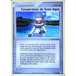carte Pokémon 77/95 Conspirateur de Team Aqua Dresseur EX Magma VS Aqua NEUF FR