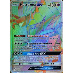 carte Pokémon 153/147 Necrozma GX SECRETE FULL ART SL3 - Soleil et Lune - Ombres Ardentes NEUF FR