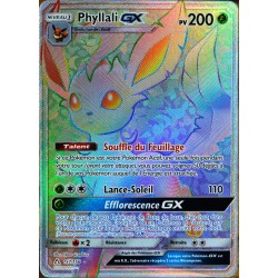 carte Pokémon 157/156 Phyllali GX SL5 - Soleil et Lune - Ultra Prisme NEUF FR