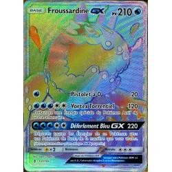 carte Pokémon 151/145 Froussardine GX SL2 - Soleil et Lune - Gardiens Ascendants NEUF FR