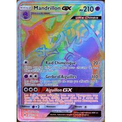 carte Pokémon 134/131 Mandrillon GX SL6 - Soleil et Lune - Lumière Interdite NEUF FR