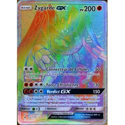 carte Pokémon 136/131 Zygarde GX SL6 - Soleil et Lune - Lumière Interdite NEUF FR