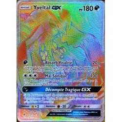 carte Pokémon 137/131 Yveltal GX SL6 - Soleil et Lune - Lumière Interdite NEUF FR