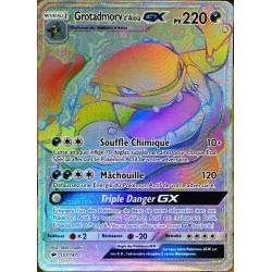 carte Pokémon 157/147 Grotadmorv 220 PV - SECRETE FULL ART SL3 - Soleil et Lune - Ombres Ardentes NEUF FR
