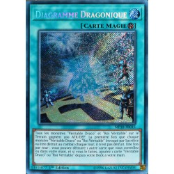 carte YU-GI-OH MP18-FR015 Diagramme Dragonique NEUF FR
