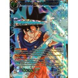 carte Dragon Ball Super BT3-033-SR Son Goku, signes de l'ultra instinct NEUF FR