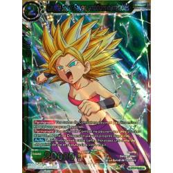 carte Dragon Ball Super BT3-078-SR Caulifla Super Saiyan, ambitions inarrêtables NEUF FR