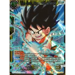 carte Dragon Ball Super BT3-088-SR Son Goku, Explosion d'énergie NEUF FR