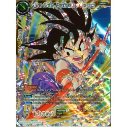 carte Dragon Ball Super BT3-088-SPR Son Goku, Explosion d'énergie NEUF FR