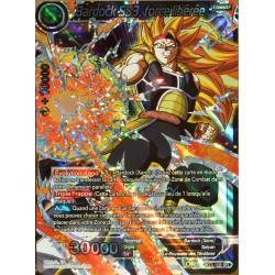 carte Dragon Ball Super BT3-109-SR Bardock SS3, force libérée NEUF FR