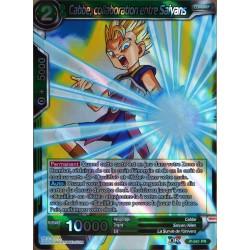 carte Dragon Ball Super P-041-PR Cabbe, collaboration entre Saiyans NEUF FR
