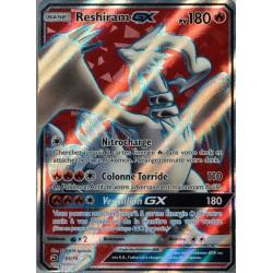 carte Pokémon 65/70 Reshiram GX 180 PV - FULL ART SL7.5 - Majesté des Dragons NEUF FR