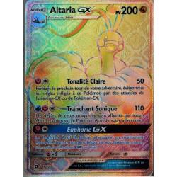 carte Pokémon 72/70 Altaria GX 200 PV - SECRETE SL7.5 - Majesté des Dragons NEUF FR