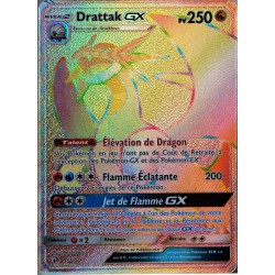 carte Pokémon 73/70 Drattak GX 250 PV - SECRETE SL7.5 - Majesté des Dragons NEUF FR