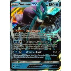 carte Pokémon 60/214 Suicune GX 180 PV SL8 - Soleil et Lune - Tonnerre Perdu NEUF FR