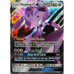 carte Pokémon 130/214 Genesect GX 180 PV SL8 - Soleil et Lune - Tonnerre Perdu NEUF FR
