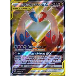 carte Pokémon 170/181 Latias & Latios GX 250 PV - FULL ART SL9 - Soleil et Lune - Duo de Choc NEUF FR