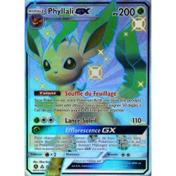 carte Pokémon SV46/68 Phyllali GX 200 PV - SHINY SL11.5 - Soleil et Lune - Destinées Occultes NEUF FR