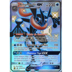 carte Pokémon SV56/68 Amphinobi GX 230 PV - SHINY SL11.5 - Soleil et Lune - Destinées Occultes NEUF FR