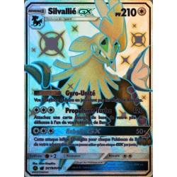 carte Pokémon SV79/68 Silvallié GX 210 PV - SHINY SL11.5 - Soleil et Lune - Destinées Occultes NEUF FR