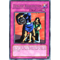 carte YU-GI-OH PSV-E025 Forced Requisition NEUF FR