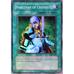 carte YU-GI-OH PSV-E034 Nobleman of Crossout NEUF FR