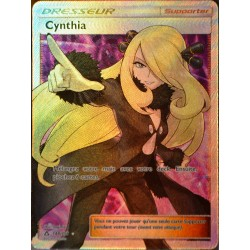 carte Pokémon 148/156 Cynthia SL5 - Soleil et Lune - Ultra Prisme NEUF FR