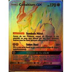 carte Pokémon 189/181 Cobaltium GX SL9 - Soleil et Lune - Duo de Choc NEUF FR