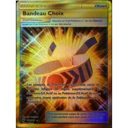 carte Pokémon 162/147 Bandeau Choix SL3 - Soleil et Lune - Ombres Ardentes NEUF FR