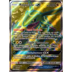 carte Pokémon 160/168 Rayquaza GX SL7 - Soleil et Lune - Tempête Céleste NEUF FR
