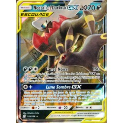 carte Pokémon 125/236 Noctali & Darkrai GX (Escouade) SL11 - Soleil et Lune - Harmonie des Esprits NEUF FR