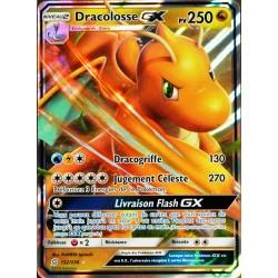 carte Pokémon 152/236 Dracolosse GX SL11 - Soleil et Lune - Harmonie des Esprits NEUF FR
