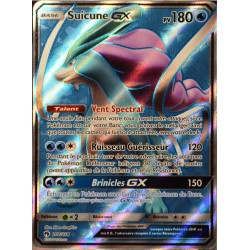 carte Pokémon 200/214 Suicune GX SL8 - Soleil et Lune - Tonnerre Perdu NEUF FR