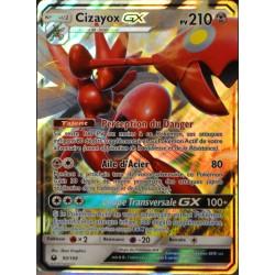 carte Pokémon 90/168 Cizayox GX SL7 - Soleil et Lune - Tempête Céleste NEUF FR