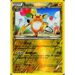 carte Pokémon 40/99 Raichu - REVERSE Noir & Blanc - Destinées Futures NEUF FR