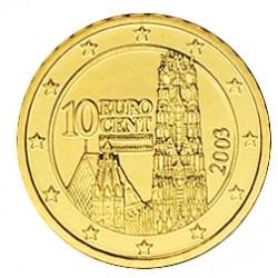 10 CENT Autriche 2003 BE 125.000 EX.