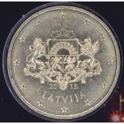50 CENT LETTONIE 2015 BU 25.000 EX.