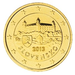10 CENT SLOVAQUIE 2013 BU 28.000 EX.