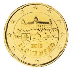 20 CENT SLOVAQUIE 2013 BU 28.000 EX.
