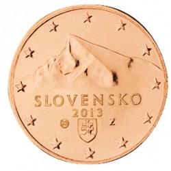 5 CENT SLOVAQUIE 2013 BU 28.000 EX.